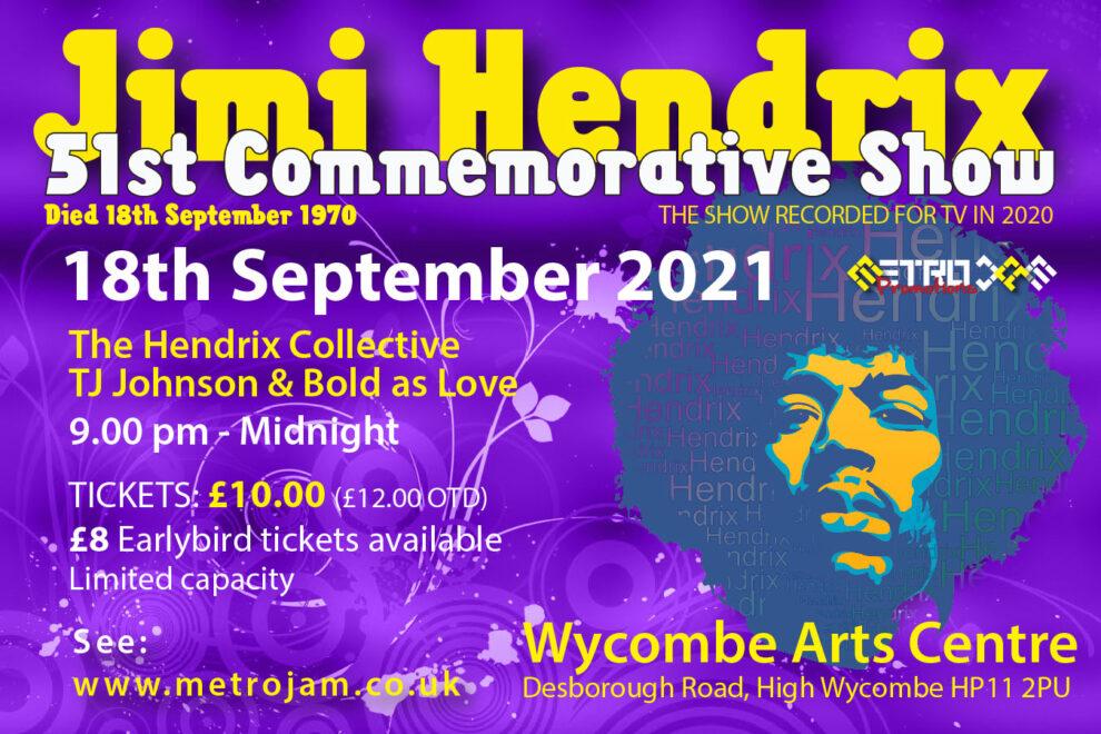 Jimi Hendrix 51st Anniversary Show